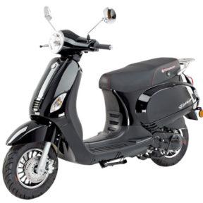 Kreidler retro scooter flory classic noir