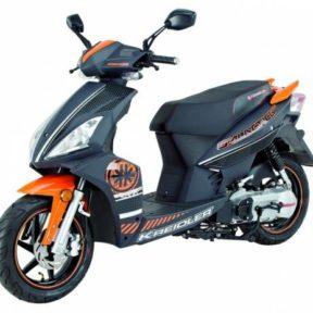 Kreidler galactica 50 RC noir orange