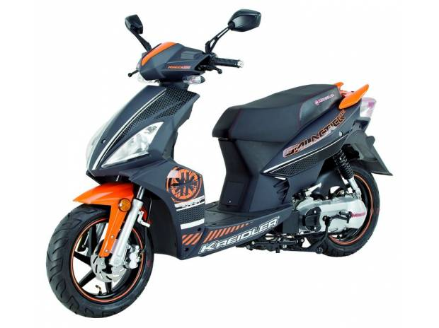 Kreidler galactica 50cc noir orange