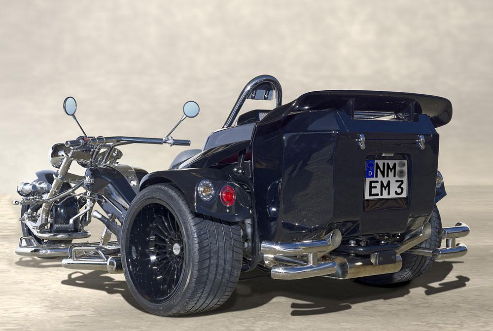 Trike Mustang arrière