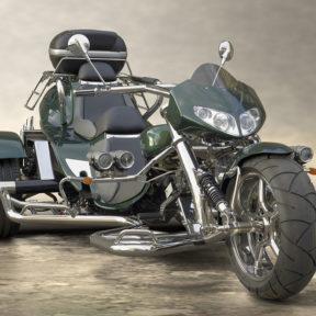 Trike Low Rider face vert