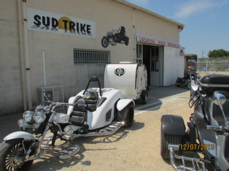 Remorque pour Trike