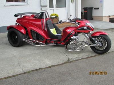 Trike HAYABUSA rouge