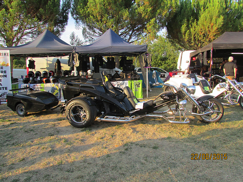 Stand foire Mormoiron Sud Trike