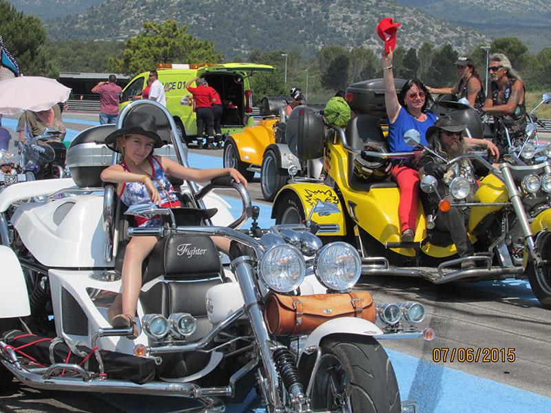 Sud trike Paul Ricard au Castellet