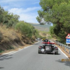 Route Espagne trike