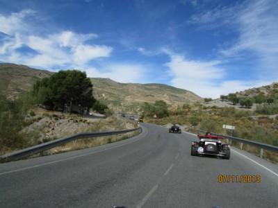 Randonné Espagne en Trike
