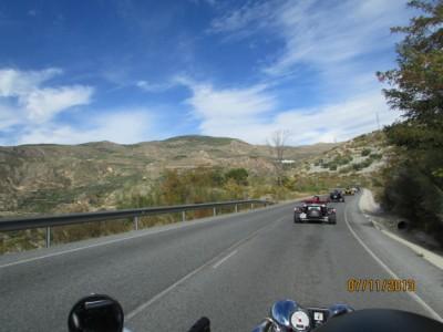 Traverser de l'Espagne en Trike