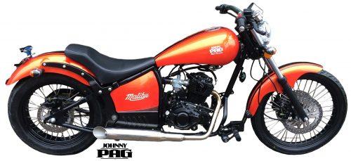 Malibu 125 assk orange