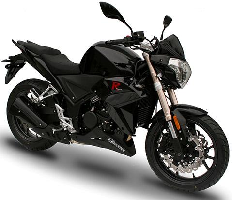 R stunt Noir 250cc latéral
