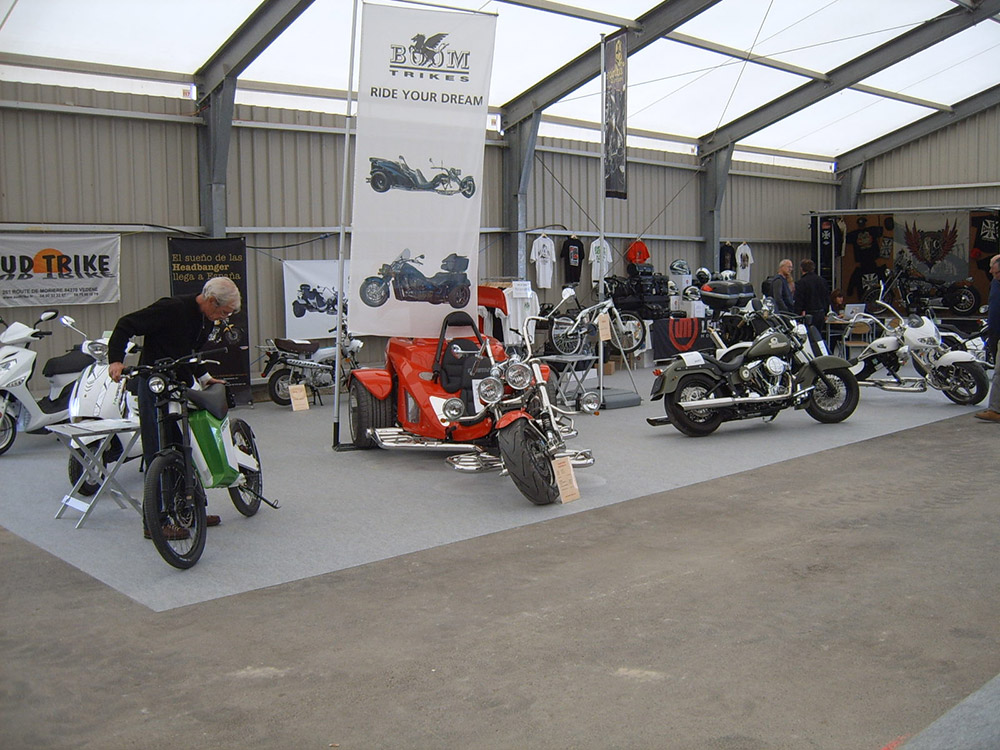 Avignon motor stand Sudtrike