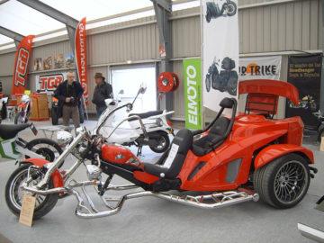 Salon Avignon motor avignon trike rouge expo