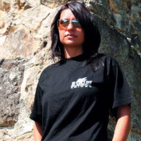 T shirt noir logo pegase Boom