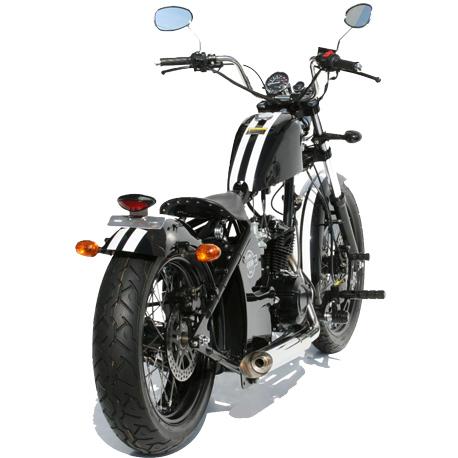 Ventura 125 noire arrière