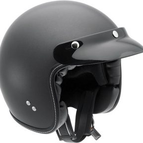 casque jet held noir matt