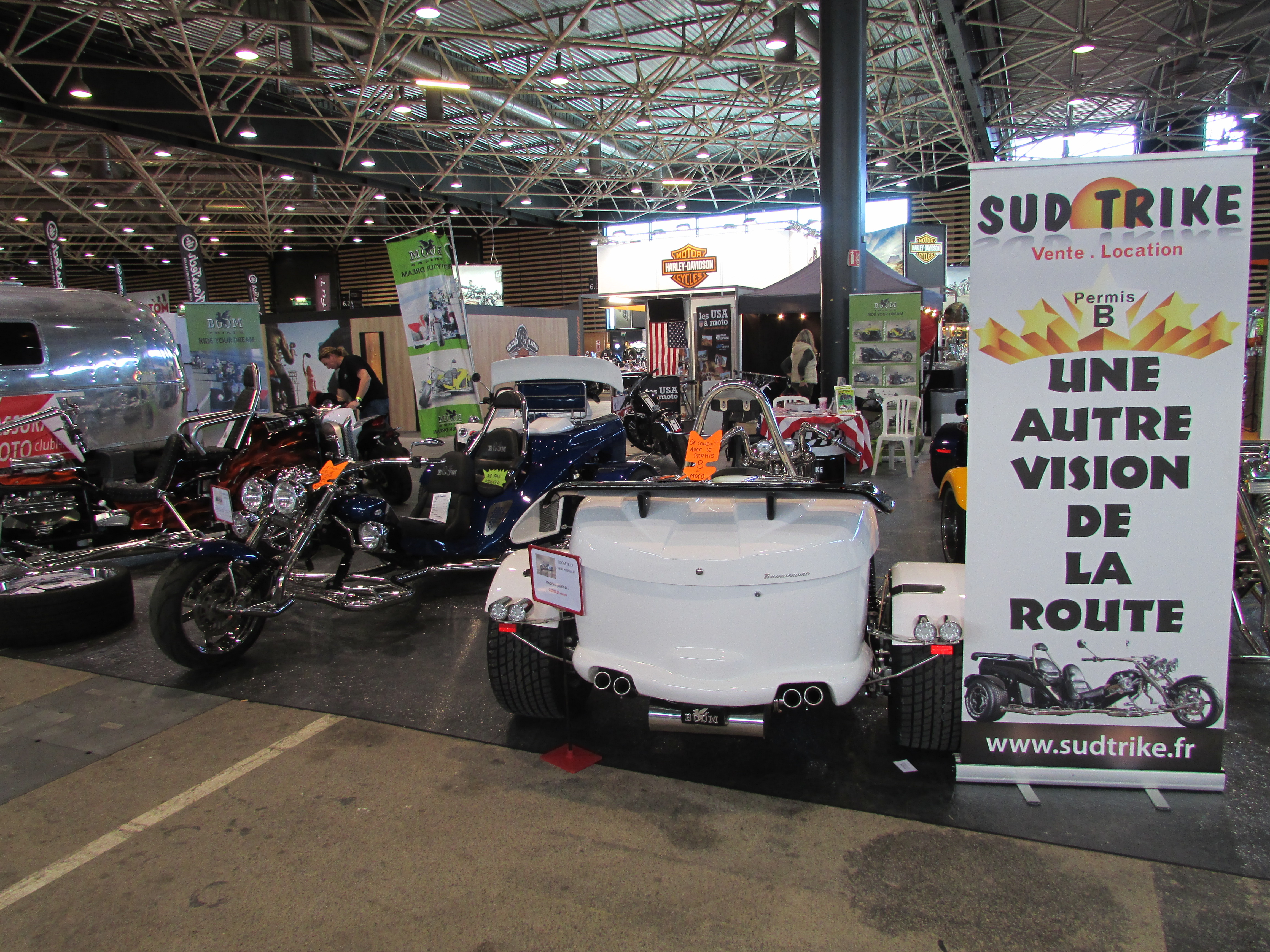 Salon de la moto de lyon 2016 sud trike for Salon de la moto lyon