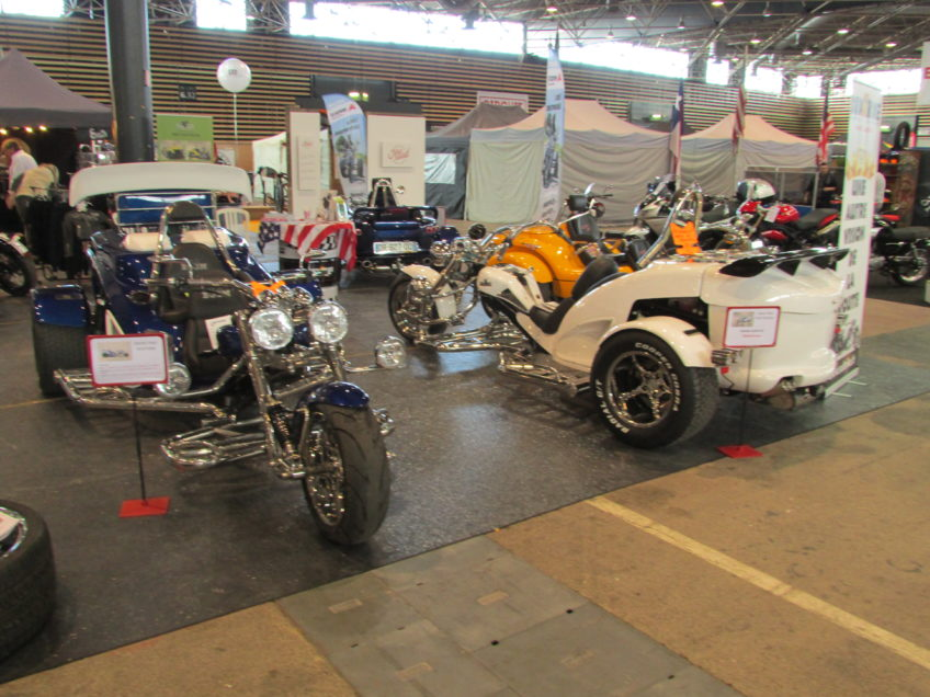Stand Sud Trike salon moto 2016