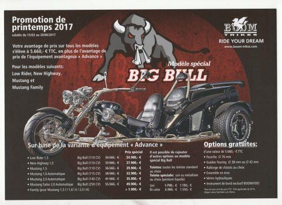 Promotion bigbull 2017