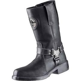 Bottes en cuir noire NEVADA II