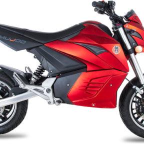 Moto électrique mujoo M3000 rouge