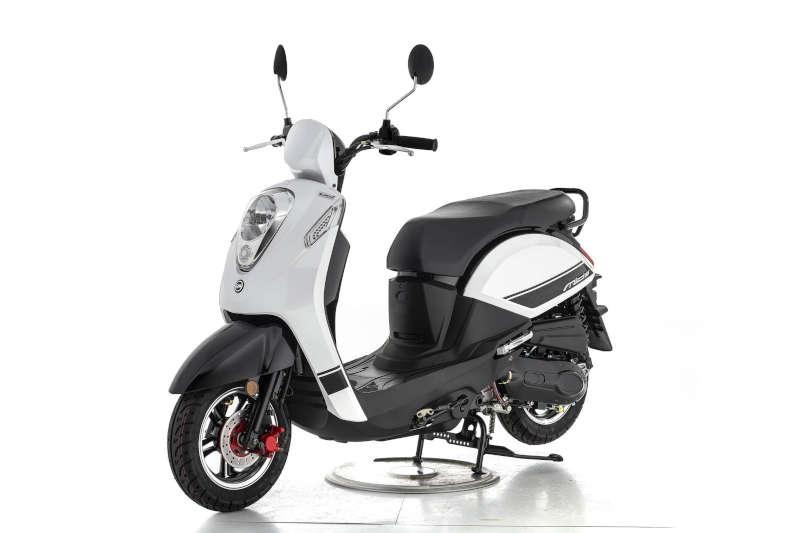 Scooter rétro 50