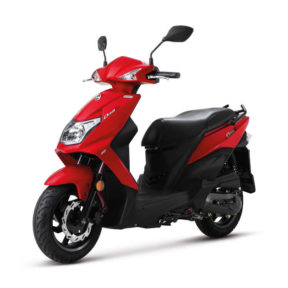 Scooter 50 SYM Rouge