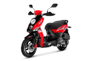 Scooter CROX 50 Rouge