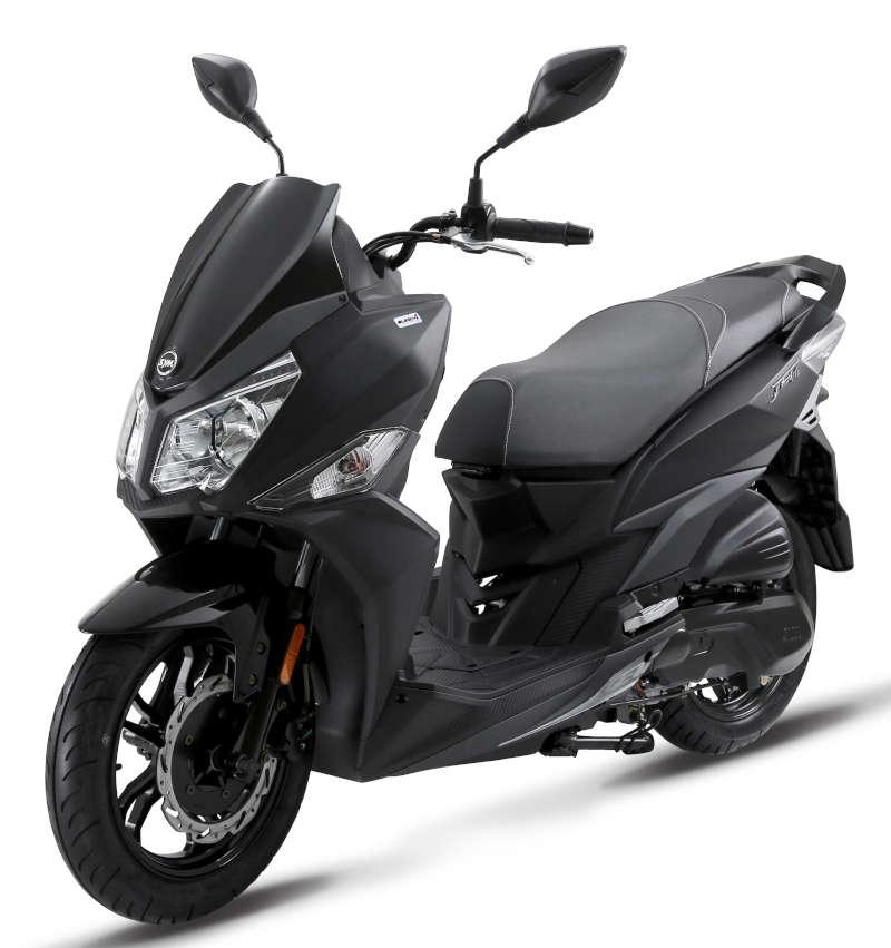 Scooter noir SYM