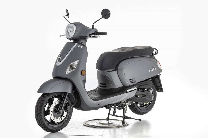 sym scooter 50 gris