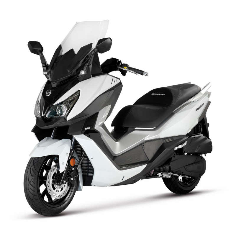 scooter blanc 125