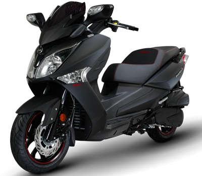 Scooter 125 EFI Sport noir mat