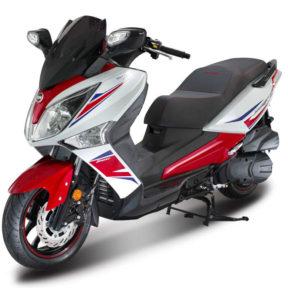 SYM scooter de route sport série limitée
