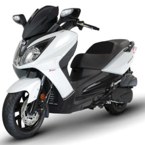 Scooter 125 Blanc