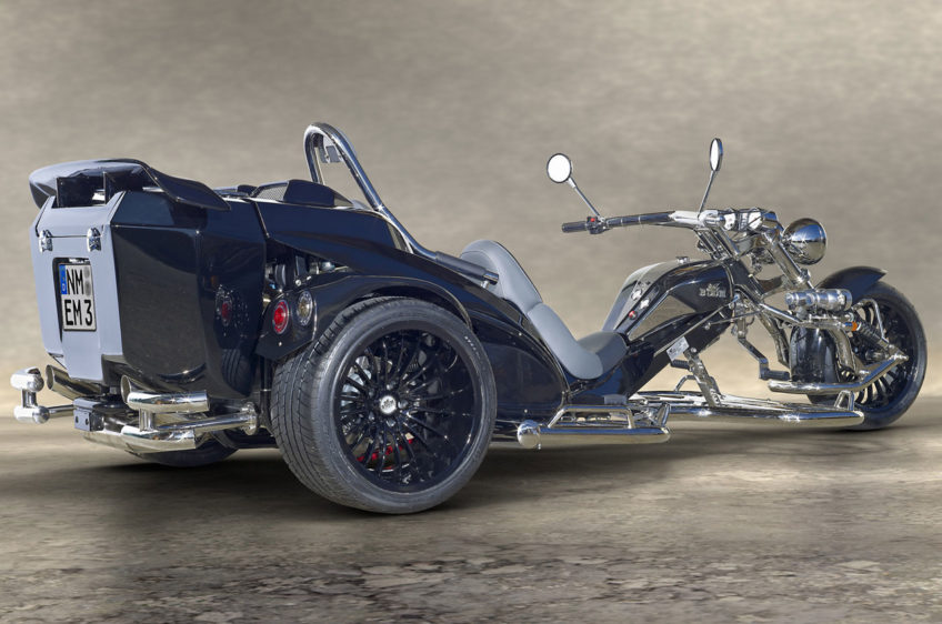 Trike latéral Mustang