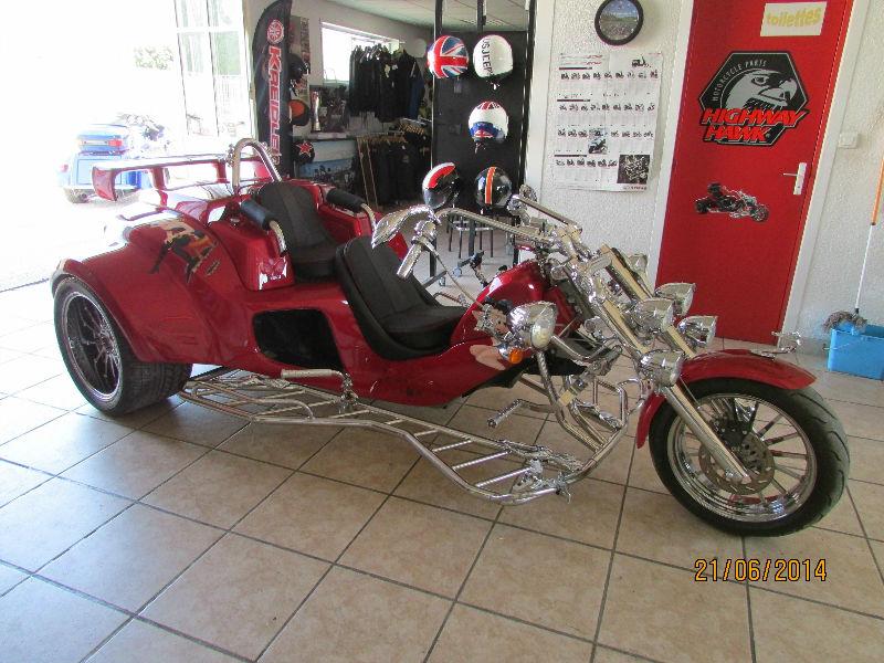 Trike custom Betty Boop