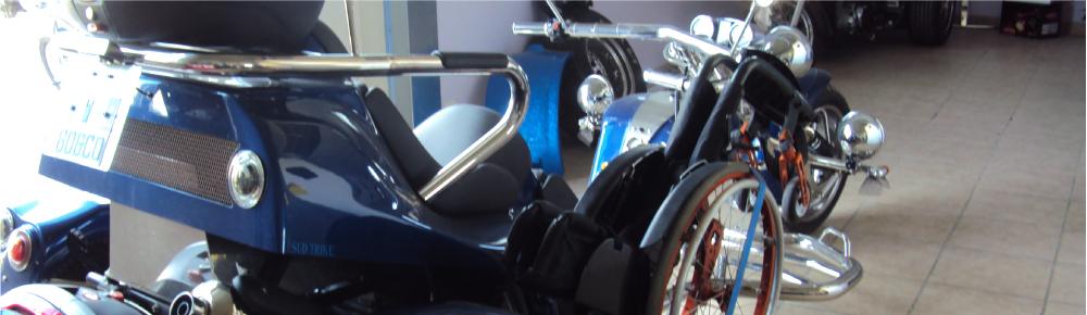 Sud Trike bandeau pour handicape