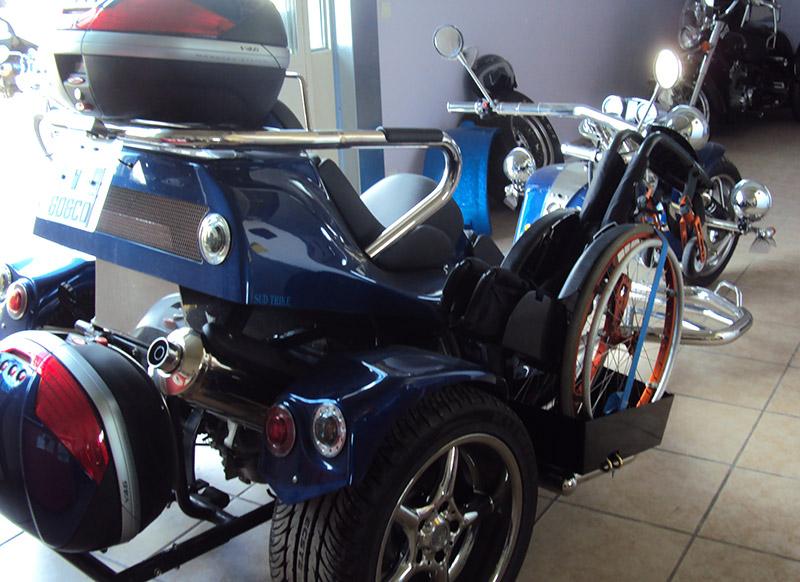 Trike adapté pour handicapé