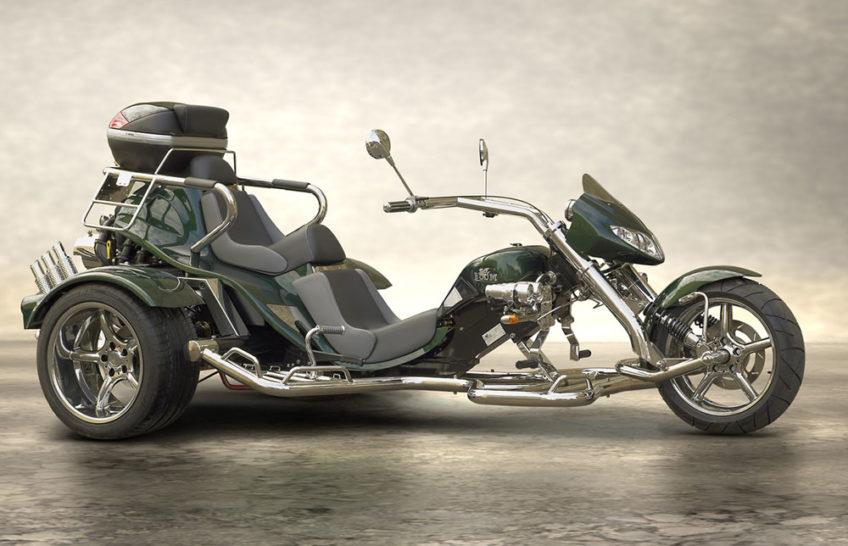 Trike Low Rider latéral droit vert