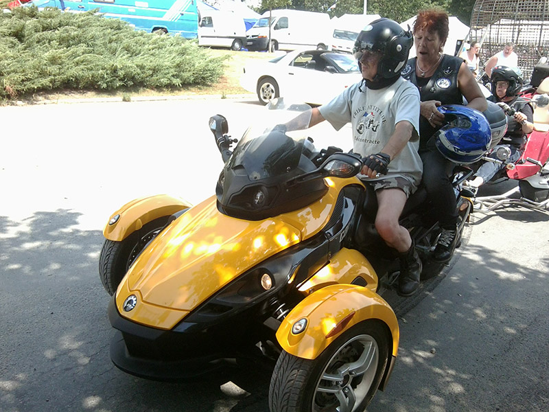 Can am Spyder Commentry