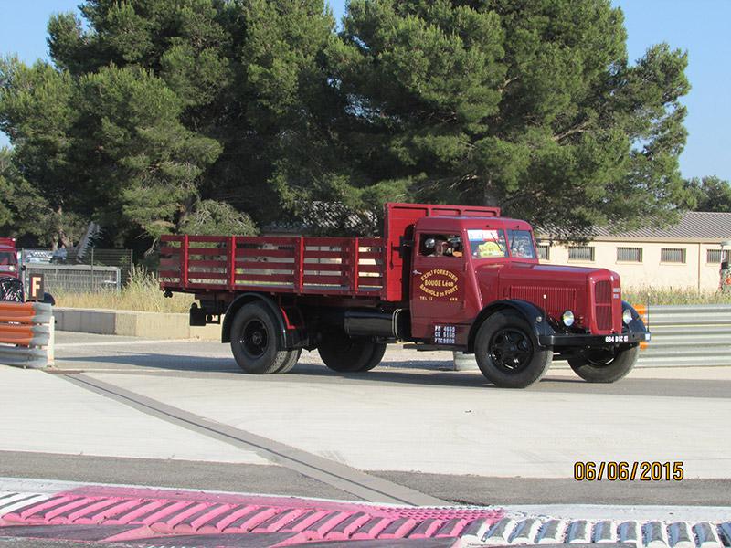 Sud trike paul ricard camion