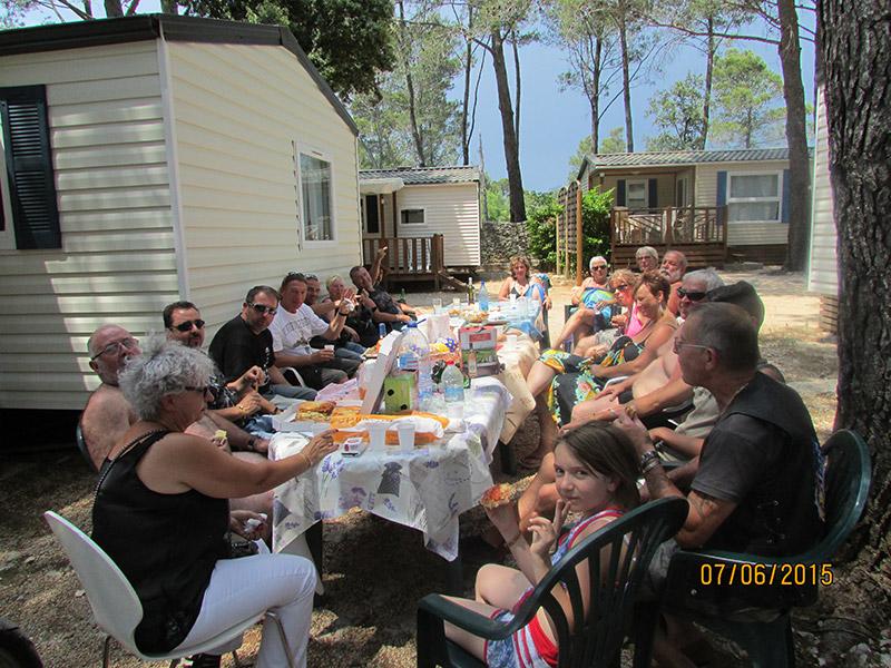 Repas Sud Trike Paul Ricard au Castelet
