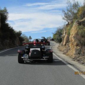 Route Espagne en trike