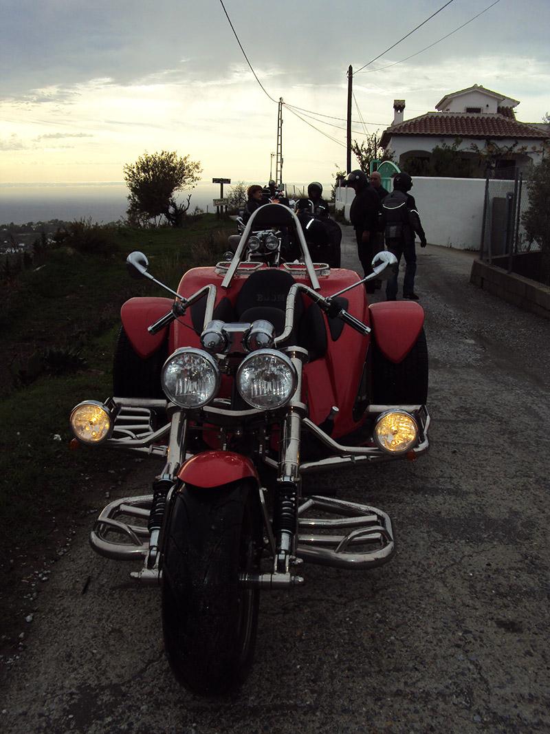 Trike rouge avant