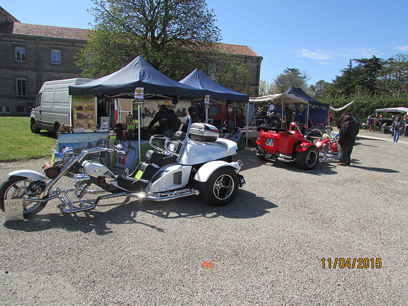 Foire Donzère stand Sud Trike