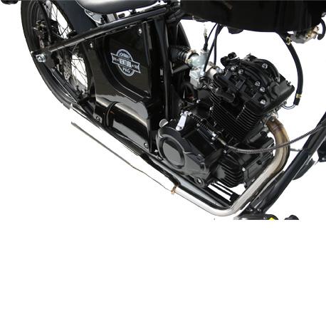 Ventura 125 noire moteur