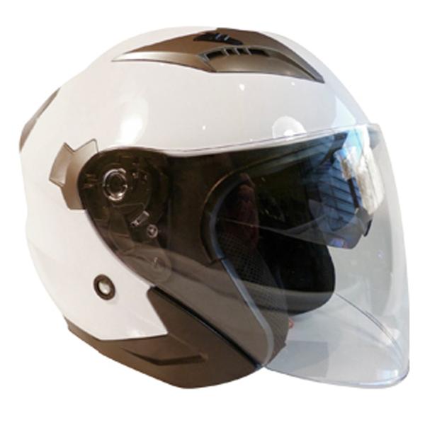 casque jet 2 visières