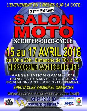 Salon moto Cagne Sur Mer 2016