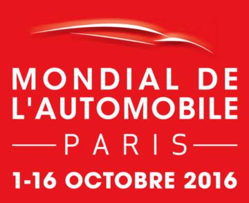 Mondial de l'automobile 2016 logo