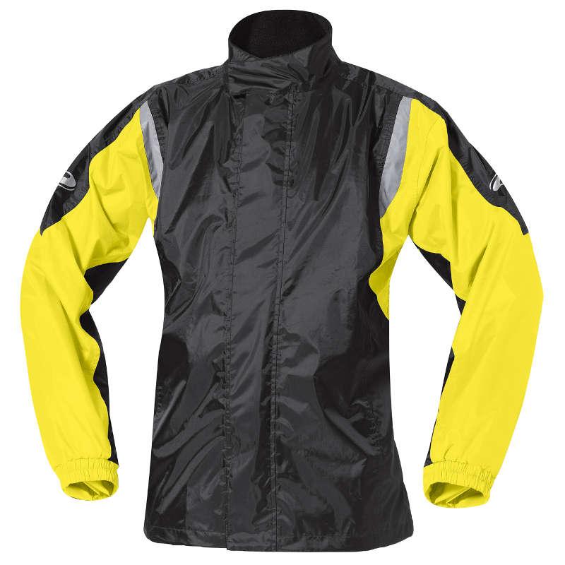 Veste de pluie Mistral 2 jaune fluo et noire