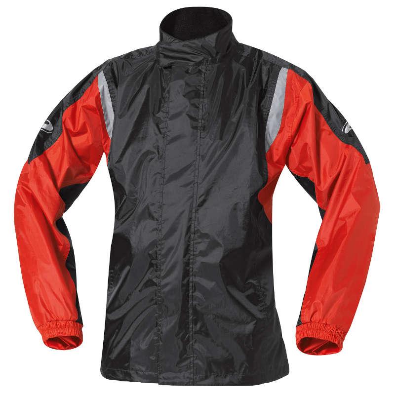 Veste de pluie Mistral 2 rouge et noire